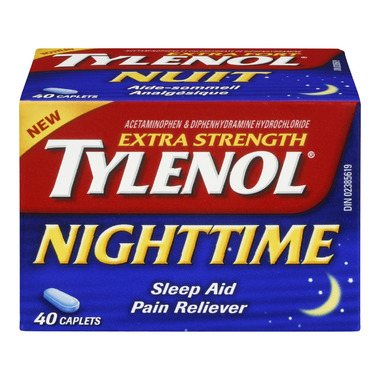 Tylenol Nighttime Extra Strength Caplets