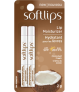 Softlips Lip Moisturizer Coconut Cream