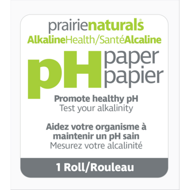 Prairie Naturals PH Paper