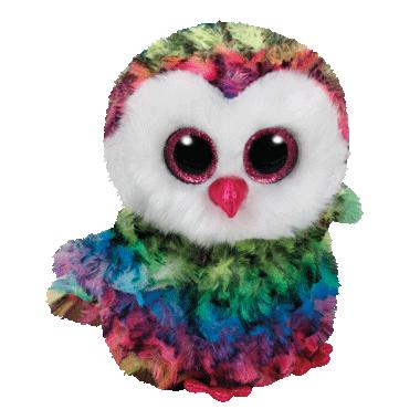 Ty Beanie Boo\'s Owen The Owl