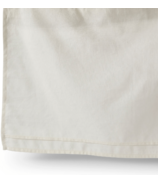 Petit Pehr Cotton Linen Crib Skirt Natural