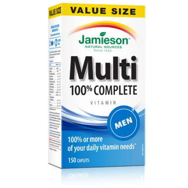 Jamieson Men\'s Adult Multivitamin Value Pack