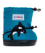 Stonz Teal Orca Toddler Booties