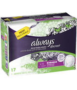 Always Discreet Incontinence Maximum Absorbency Underwear