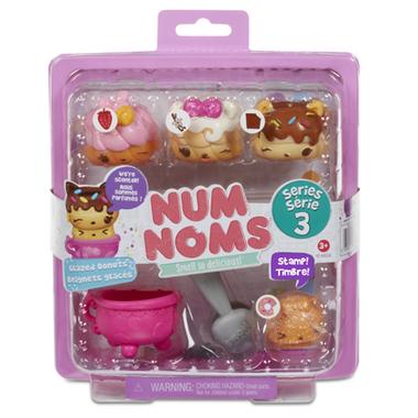 Num Noms Starter Pack Glazed Donuts Series 3