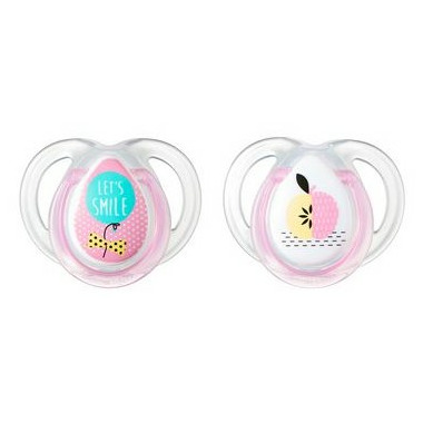 Tommee Tippee Closer to Nature Everyday Pacifier Pink