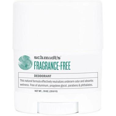 Schmidt\'s Deodorant Fragrance-Free Deodorant Travel Size