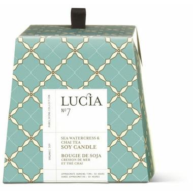 Lucia Sea Watercress & Chai Tea Soy Candle