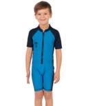 Level Six Months Apollo Boy's SPF 50 Sunsuit Bright Blue