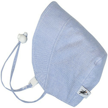 Puffin Gear Cotton Oxford Bonnet Blue