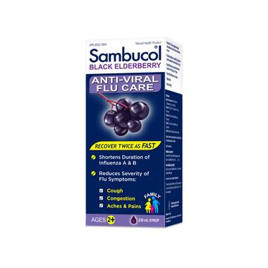 Sambucol Anti-Viral Flu Care Family