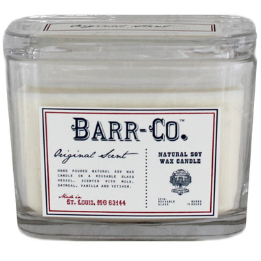 Barr-Co. Soap Shop 2 Wick Candle Original Scent