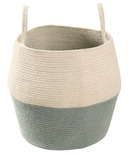 Lorena Canals Natural Zoco Basket Vintage Blue