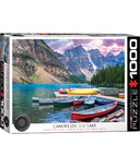 EuroGraphics Canoes on the Lake Puzzle