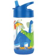 Stephen Joseph Flip Top Water Bottle Dino