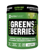 NUTRAPHASE Clean Greens & Berries Mojito