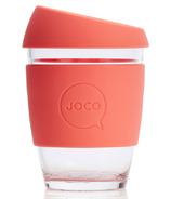 JOCO Glass Reusable Cup Persimmon