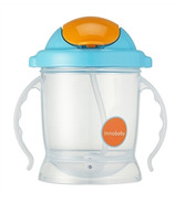 Innobaby Sippin' Smart EZ Flow Straw Sippy Blue