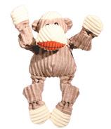 Hugglehounds Knotties Super Sized Sock Monkey Dog Toy