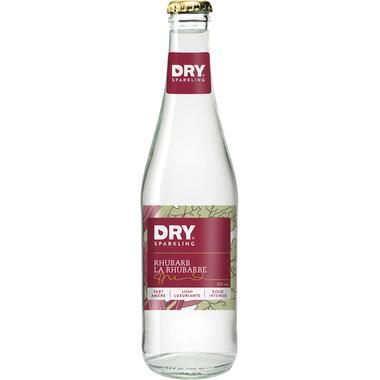DRY Sparkling Rhubarb Soda