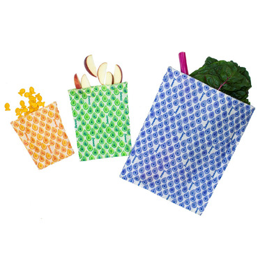 BeeBAGZ Beeswax Bags Starter Pack Multi
