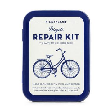 Kikkerland Bike Repair Kit Tin