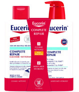 Eucerin Complete Repair Cleanser & Moisturizing Lotion Set