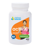 Platinum Naturals Multivitamin Activ-X for Active Women