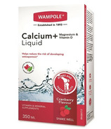 Wampole Calcium Magnesium and Vitamin D Liquid