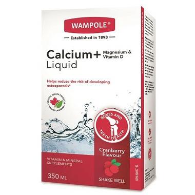 Wampole Calcium Magnesium and Vitamin D Liquid