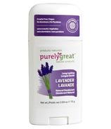 Purelygreat Lavender Stick Deodorant
