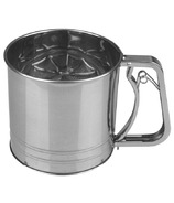4-Cup Stainless Steel Flour Sifter