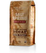 Salt Spring Coffee Swiss Water Decaf Dark Roast Whole Bean Coffee