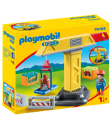 Playmobil 1.2.3. Construction Crane