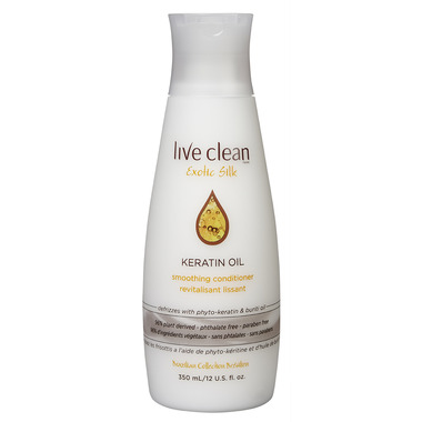 Live Clean Exotic Silk Keratin Oil Smoothing Conditioner