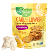 From the Ground up Cauliflower Snacking Cracker Everything