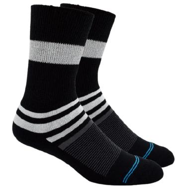 Dr. Segal\'s Diabetic Socks Black Stripe
