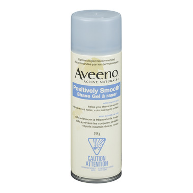 Aveeno Active Naturals Positively Smooth Shave Gel