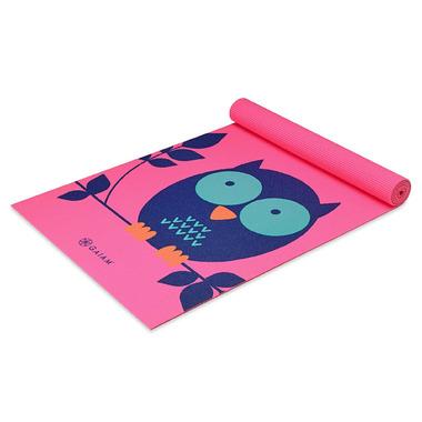 Gaiam Kids Printed Yoga Mat Owl