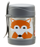 3 Sprouts Stainless Steel Food Jar Fox
