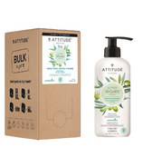 ATTITUDE Super Leaves Olive Hand Soap and Bulk to Go Refill Bundle