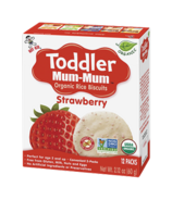 Hot-Kid Toddler Mum-Mum Organic Strawberry Rice Biscuits