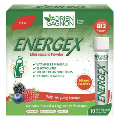 Adrien Gagnon Energex Effervescent Powder Mixed Berries