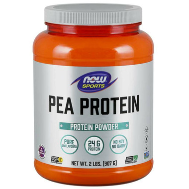 NOW Sports Pea Protein Powder Unflavoured