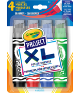 Crayola Project XL Poster Markers Classic Colours