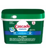 Cascade Complete ActionPacs Dishwasher Detergent Fresh Scent