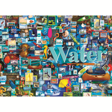 Cobble Hill Elements Collection: Water Puzzle