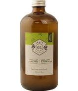 Crate 61 Organics Bergamot Tea Tree Liquid Soap Refill