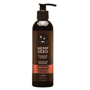 Earthly Body Hemp Seed Massage Lotion Isle Of You