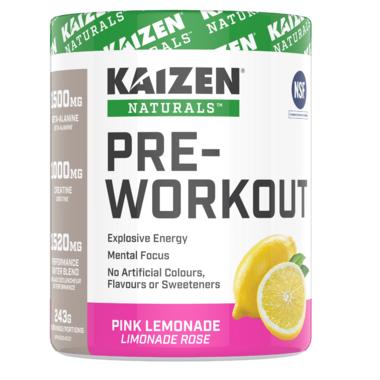 Kaizen Natural Pre-Workout Pink Lemonade